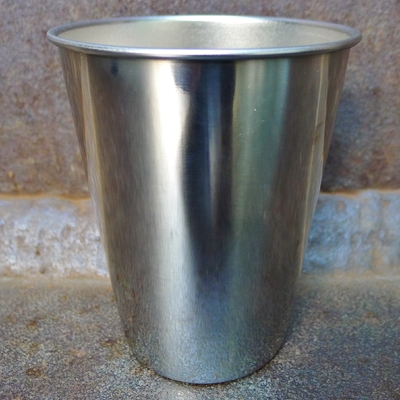verre inox 350 ml silver