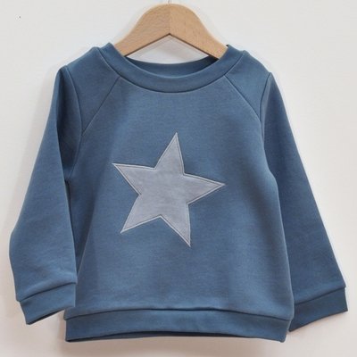 sweat coton bio étoile