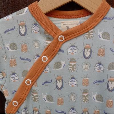 pyjama bébé coton bio insectes