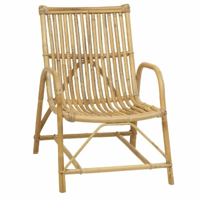 fauteuil rotin naturel Olivier