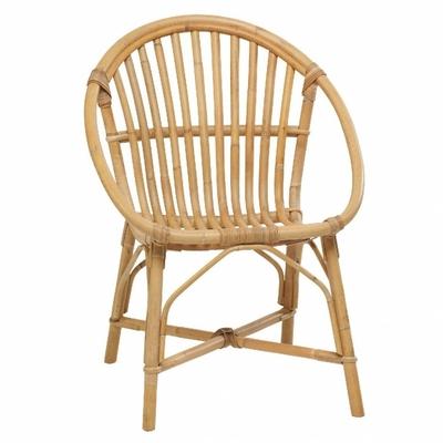 fauteuil rotin naturel Bruno