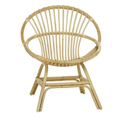 KOK MAISON fauteuil rotin naturel Brigitte