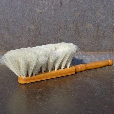 balayette à dépoussiérer bois et poils de chèvre