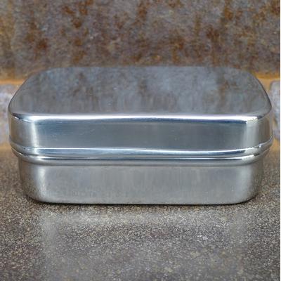 boîte inox rectangle