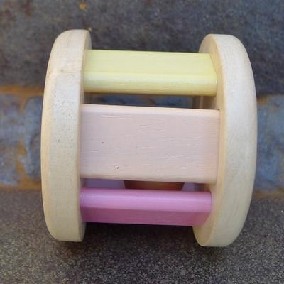 PLAN TOYS roller pastel en bois
