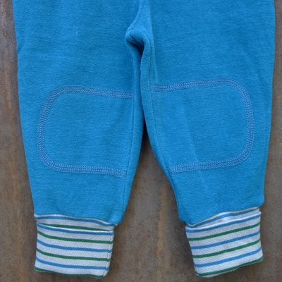 pantalon velours coton bio océan