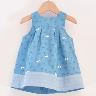 LA QUEUE DU CHAT robe bébé coton bio Californie