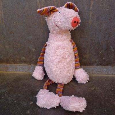LANA NATURAL WEAR peluche coton bio cochon