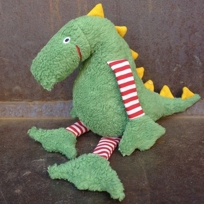 LANA NATURAL WEAR peluche coton bio dinosaure