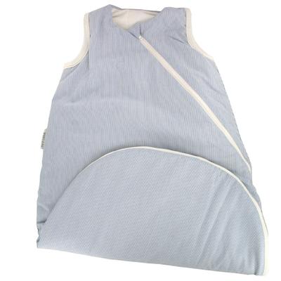 POPOLINI gigoteuse hiver rayée coton bio/Lavalan (laine et Ingeo)