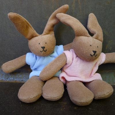 NANCHEN NATUR doudou lapin coton bio