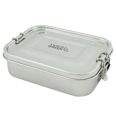A SLICE OF GREEN Adoni lunch box étanche inox (675 ml)