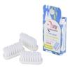 LAMAZUNA recharge 3 têtes de brosse à dents médium