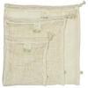 A SLICE OF GREEN sac filet pour le vrac coton bio (lot de 3) (2)