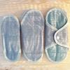 ANAE serviette hygiénique lavable coton bio mini cercles (lot de 2)