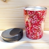 QWETCH mug flowers isotherme inox 240 ml (2)