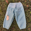 pantalon bleu soleil