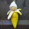 NANCHEN NATUR doudou banane coton bio
