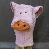 LANA NATURAL WEAR marionnette coton bio cochon