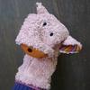 LANA NATURAL WEAR marionnette coton bio cochon (2)