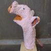LANA NATURAL WEAR marionnette coton bio cochon (4)