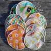 MON PETIT OKO lingettes lavables rondes coton bio Japon (lot de 10)