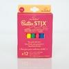 JAQ JAQ BIRD 12 craies colorées zéro poussière + porte-craie magnétique (2)