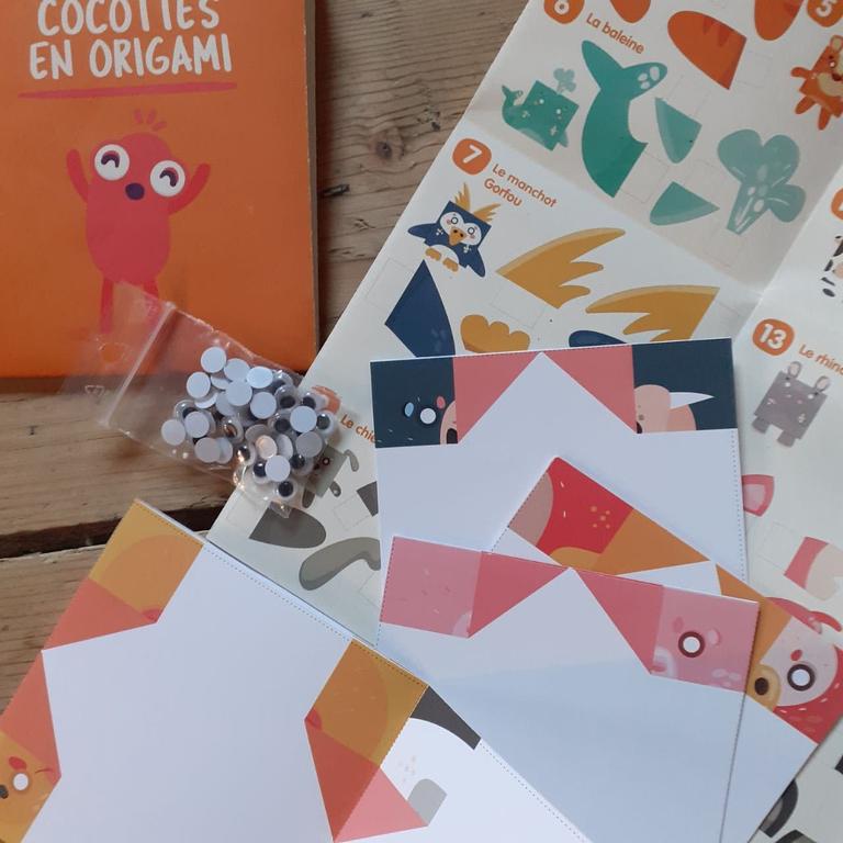 origami maths contenu