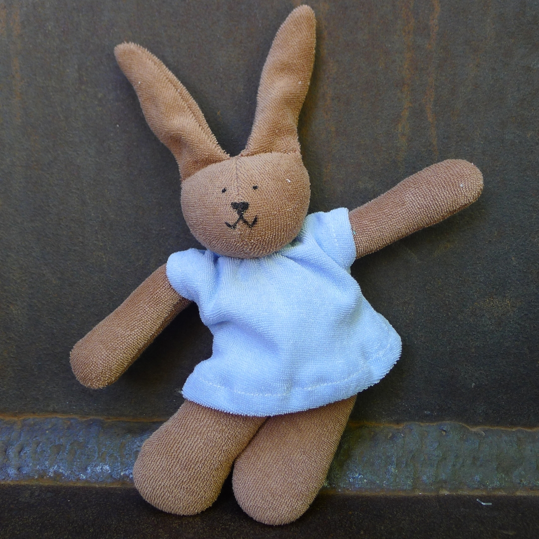 NANCHEN NATUR doudou lapin coton bio 3