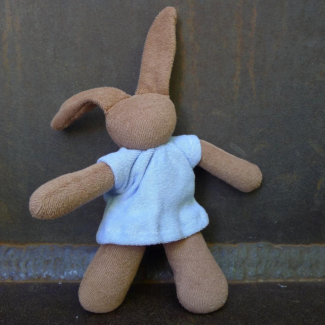 NANCHEN NATUR doudou lapin coton bio 4