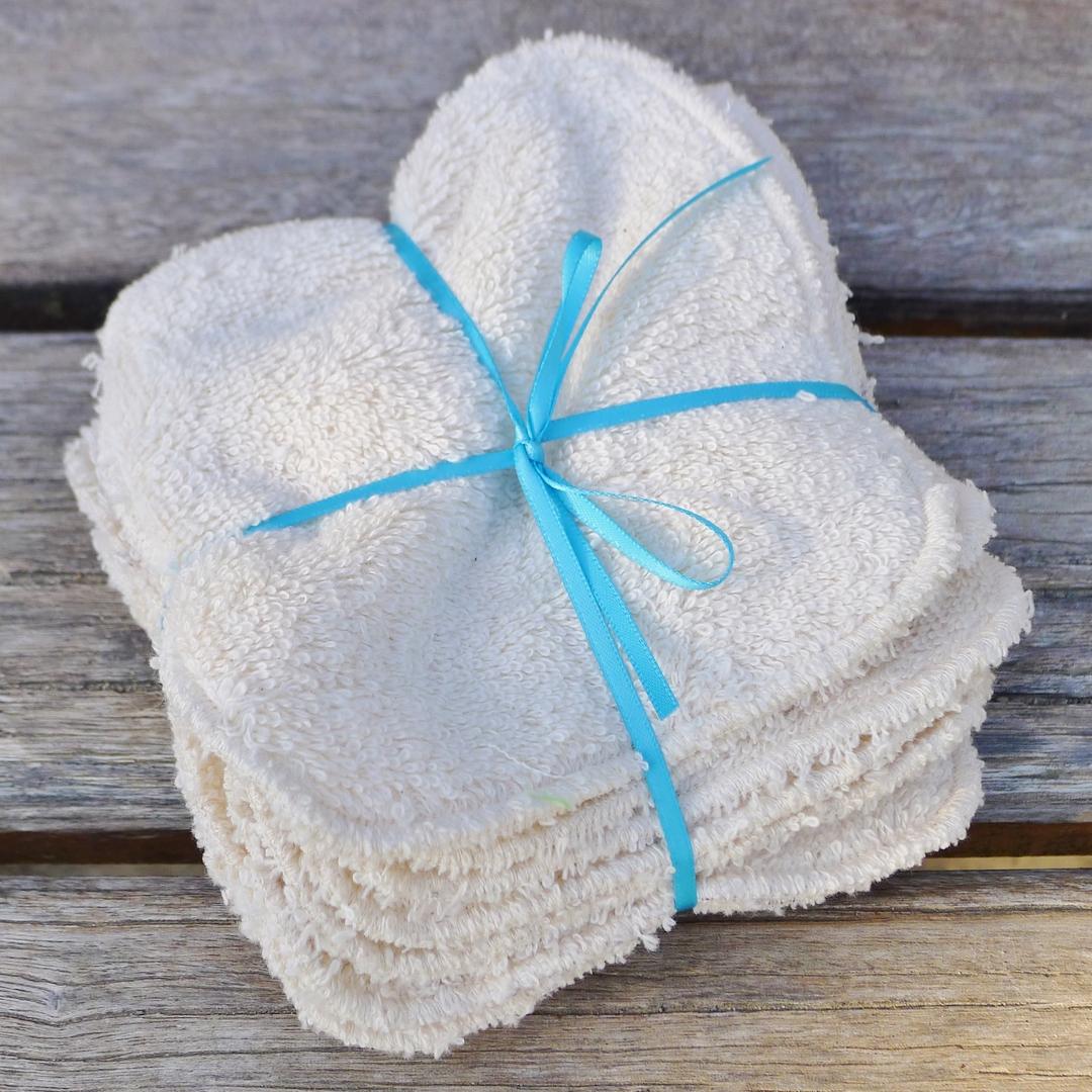 MON PETIT OKO lingettes lavables pipi coton bio (lot de 10)