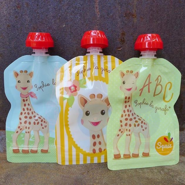 gourdes girafe