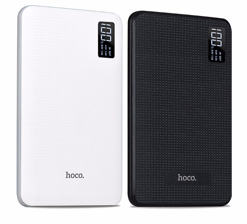 HOCO-30000-mAh-Portable-Power-Bank-Chargeur-Triple-USB-Mobile-T-l-phone-Externe-Batterie-Pour