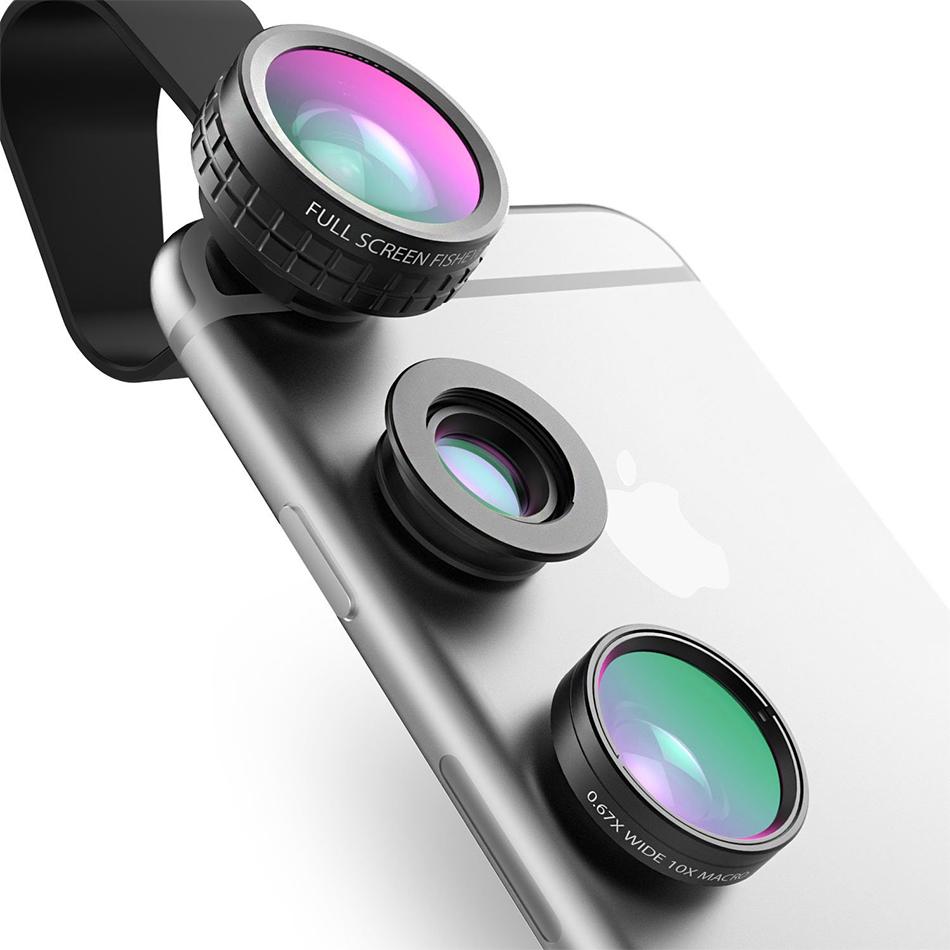 Kit 3 Objectifs Smartphone Premium