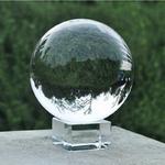 L-eau-Pure-60mm-Ronde-K9-Verre-Cristal-Artificiel-Balle-pour-Photographie-D-cor-Quartz-Gu