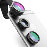 AUKEY-Fish-eye-Lentille-3in-1-Clip-sur-le-T-l-phone-portable-Cam-ra-180