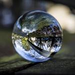 Boule de cristale photgraphie Life Peak