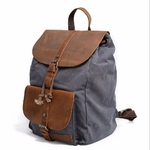 Vintage-en-cuir-toile-sac-dos-hommes-pochette-d-ordinateur-coll-ge-cole-Bookbag-sac-bandouli