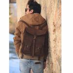 Milano sac à dos cuir vintage Life Peak8