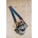 Sangle appareil photo coton et cuir automn-1