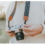 Sangle appareil photo coton et cuir automn-2