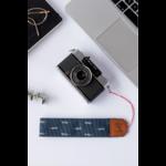 Sangle appareil photo coton et cuir automn-5