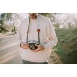 Sangle appareil photo coton cuir-7