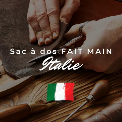 Sac à dos fait mains Italie