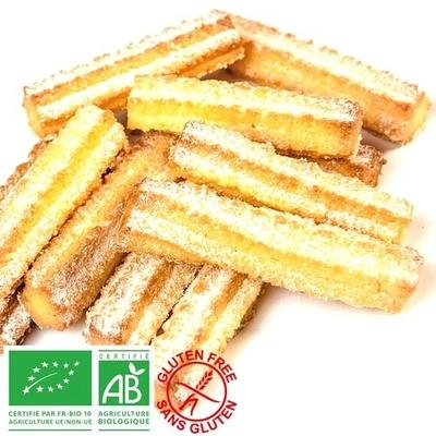 Spritz Bredele Sablé alsacien au beurre - Bio sans gluten