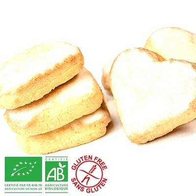 Bredele au beurre, Glacé au Kirsch d'Alsace - Bio sans gluten