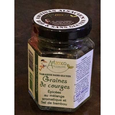 APEROCROC - Graines de courges aux aromates du jardin et sel de bambou