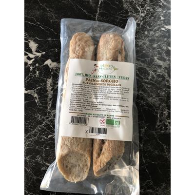 Pain blanc au Sorgho bio sans gluten