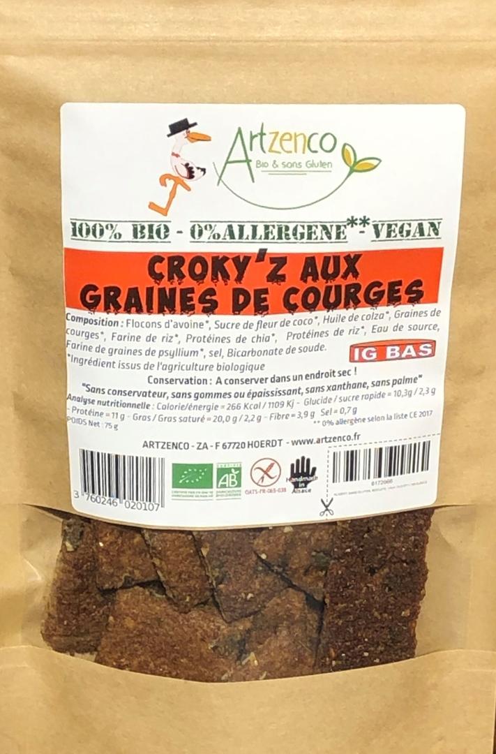 CROKY'S aux graines de Courges