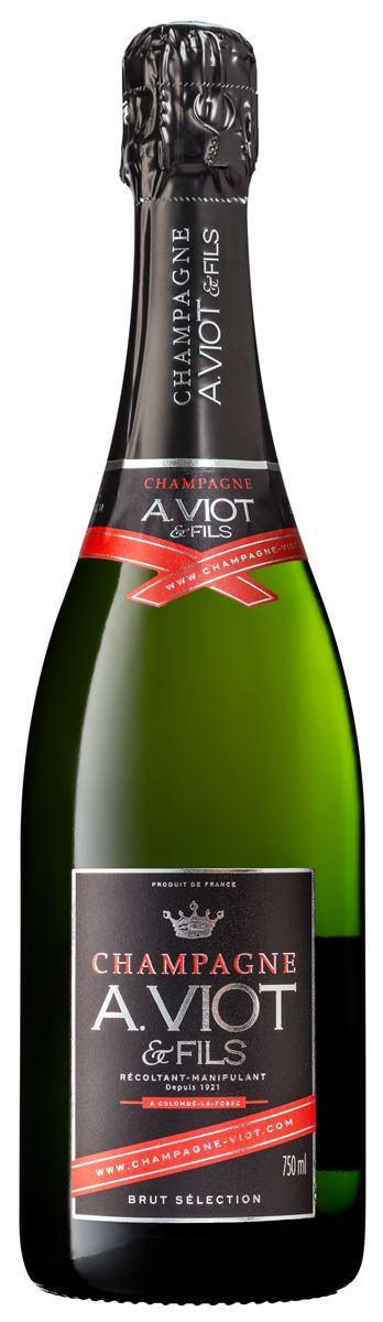 Champagne A.VIOT & FILS Brut Sélection blanc Carton de 6 bts